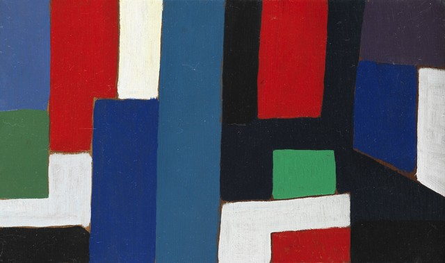 Caziel, 'Composition WC 768', ca. 1967, Painting, Oil on panel, Ben Uri Gallery and Museum