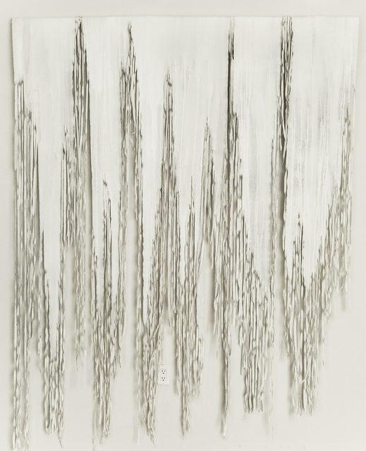 , 'Bianco 1,' 2018, Galleria Ca' d'Oro