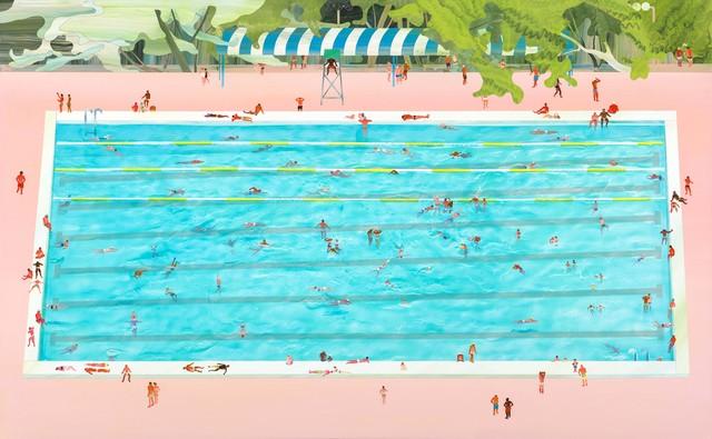 Yang-Tsung Fan, 'Swimming pool series -Public swimming pool', 2014, Aki Gallery