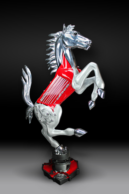 James Ferrari, 'Quatrovalvole Prancing Horse', 2015, Ferrari Gallery