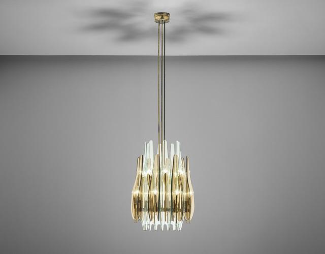 Max Ingrand, ''Dahlia' ceiling light', Phillips