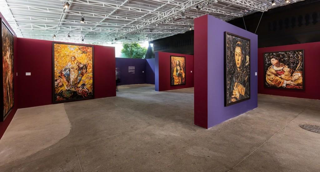 Vik Muniz, Imaginária, Casa Santa Ignez | Rio de Janeiro 2018, exhibition view © photo Pat Kilgore courtesy of the artist and galeria nara roesler