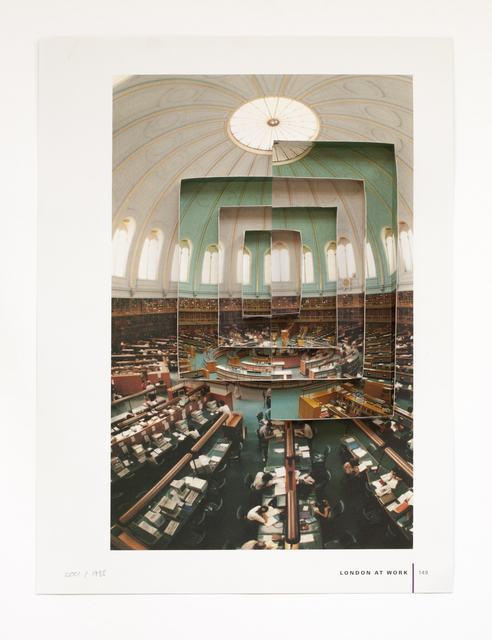 , 'The British Museum Reading Room 2001 | 1988,' 2016, Rokeby Gallery