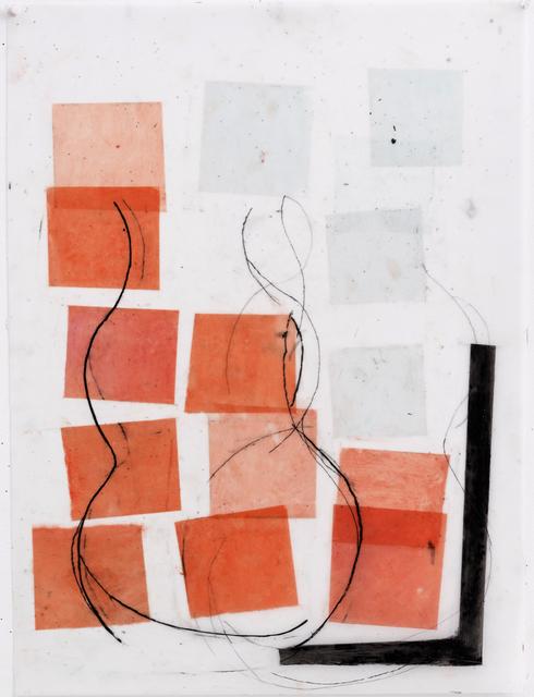 , 'Transom- Orange Blue,' 2017, Red Arrow Gallery