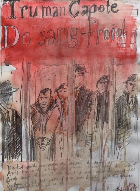 , 'Literary Portrait - Capote, De sang froid,' 2012-2015, PLUTSCHOW GALLERY
