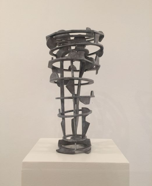 , 'Gray Twister,' 2017, Loretta Howard Gallery