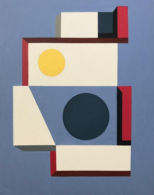 Andrey Kozakov, 'Structure', 2019, Painting, Oil on canvas, Cincinnati Art Underground