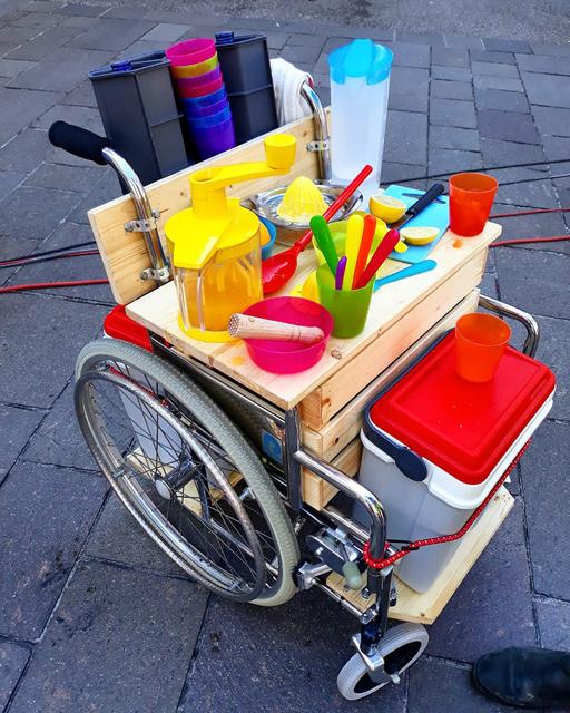 , 'Transnômades (wheelchair),' ca. 2018, Galerie Brigitte Schenk