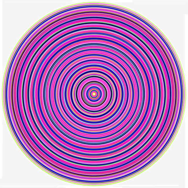 , 'Pink Target ,' 2017, Andrea Schwartz Gallery