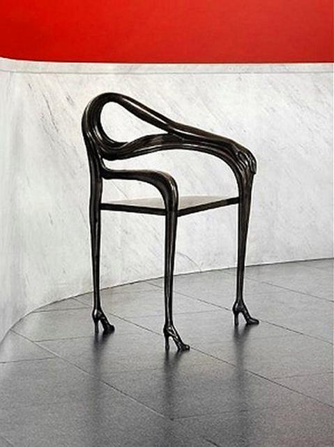 Salvador Dalí, 'Leda Chair Black Label', 1937, Design/Decorative Art, Casted brass/Black patina, Galerie NuEdge