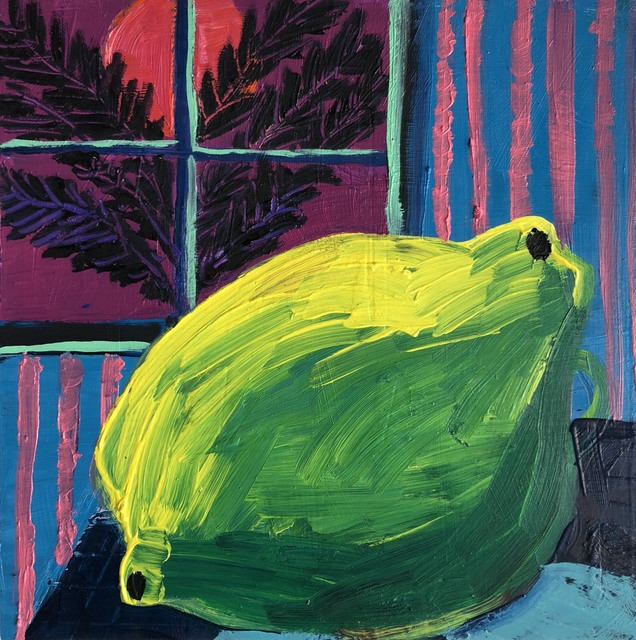 , 'Twilight Lime,' 2018, V1 Gallery