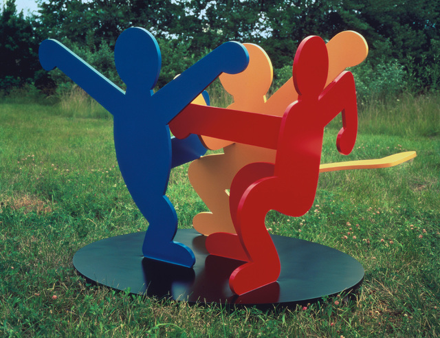 Keith Haring, 'Untitled (Three Dancing Figures), Version A', 1989, Phillips