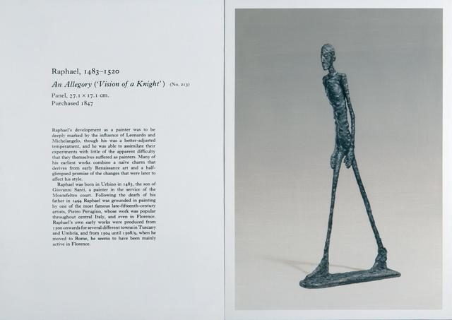 , 'Untitled (Raphael / Giacometti),' 2010, Almine Rech