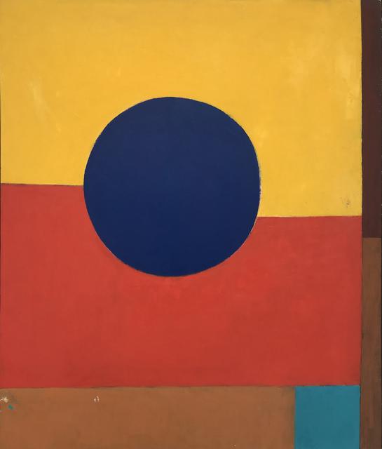 , 'Blue Circle ,' 1960-1969, Modern West Fine Art