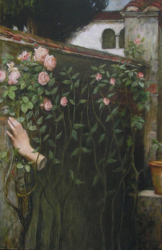 , 'The Soul of the Rose, J. W. Watershouse,' 2010, Cynthia Corbett Gallery