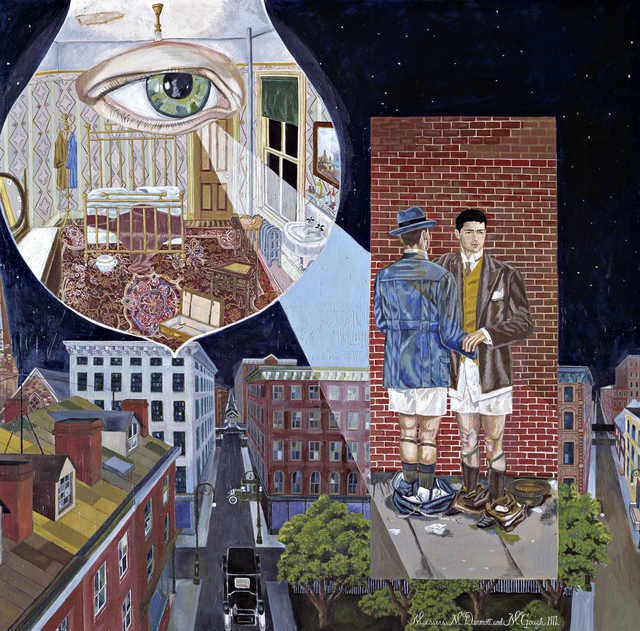 , 'The Night Light,' 1987, Collezione Maramotti
