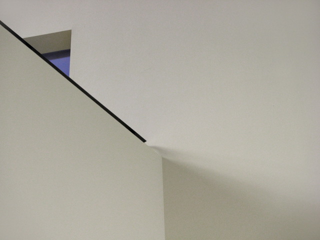 , 'Shadow of a diagonal,' 2008, Gallery Espace
