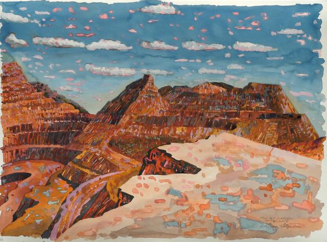 , 'No 7 Sub Station, Tom Price Mine,' 1989, Charles Nodrum Gallery