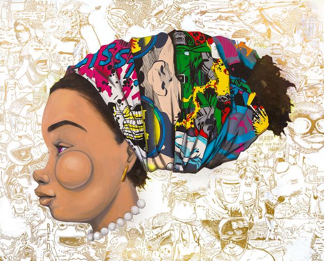 , 'Untitled (Tignon Series 2),' 2016, Joseph Gross Gallery