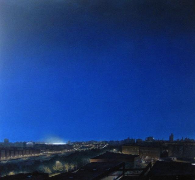 Craig McPherson, 'Summer Yankee Stadium', 1981-1983, Painting, Oil on Linen, Katharina Rich Perlow Fine Arts