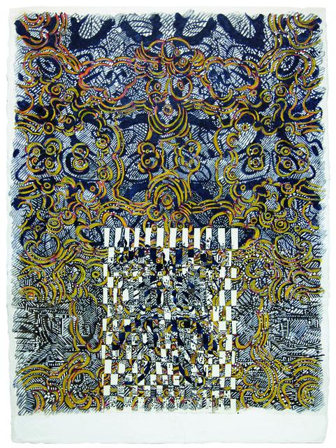 François Rouan, 'Eponge 2, Pelote Absorbante, 2011', 2011, Ditesheim & Maffei Fine Art
