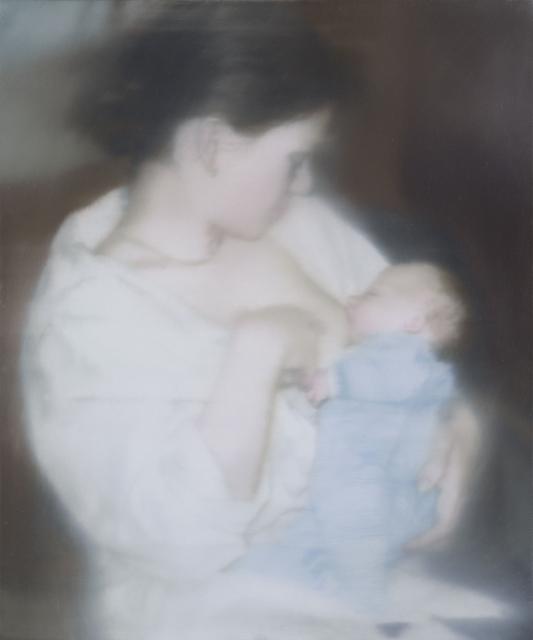 , 'S. mit Kind,' 1995, Fondation Beyeler