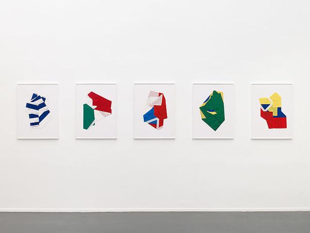 , 'Banderas latinoamericanas,' 2010, Instituto de Visión