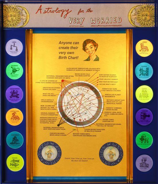 Jerry Meyer, 'Astrology for the Very Worried', 2009, Denise Bibro Fine Art