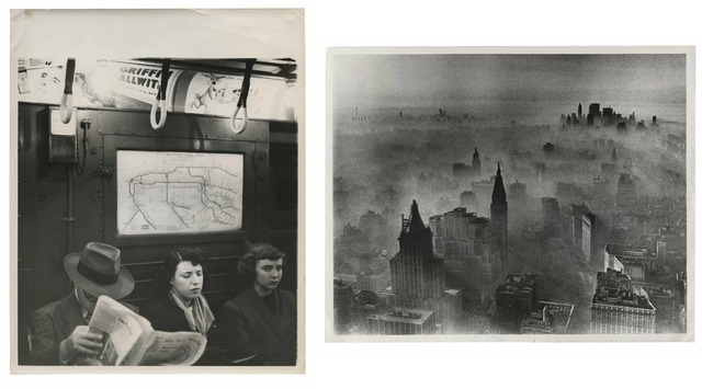 , 'TQ 31/32: New York Subway/New York Smog,' 1948/1977, Moss Bureau