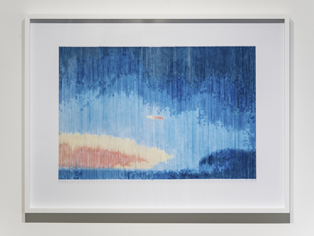 , 'Last Image of Kosmos 1154 30th January 1980 – 12th October 2014,' 2016, Blindspot Gallery