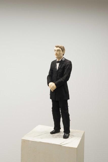 , 'Mann schwarz mit Fliege,' 2017, Deweer Gallery