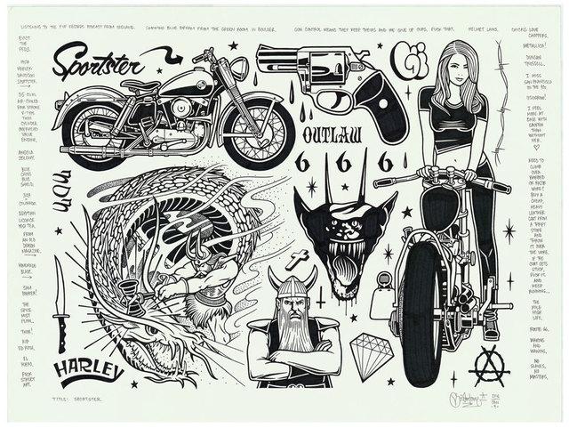 , 'Sportster,' 2016, Black Book Gallery