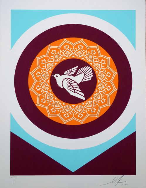 Shepard Fairey (OBEY), 'Peace Dove serie 3', 2018, AYNAC Gallery