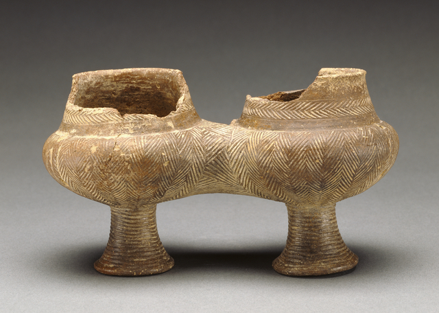 'Double Kandila of the Grotta-Pelos Group', 3000 BCE -2800 B.C., J. Paul Getty Museum