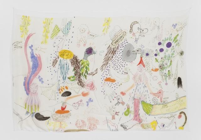 , 'Late Checkout (dots),' 2015, Simone Subal