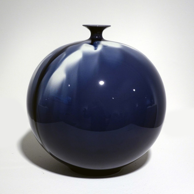 , 'Jar - Blue Diamond Flower 02,' 2010, Onishi Gallery