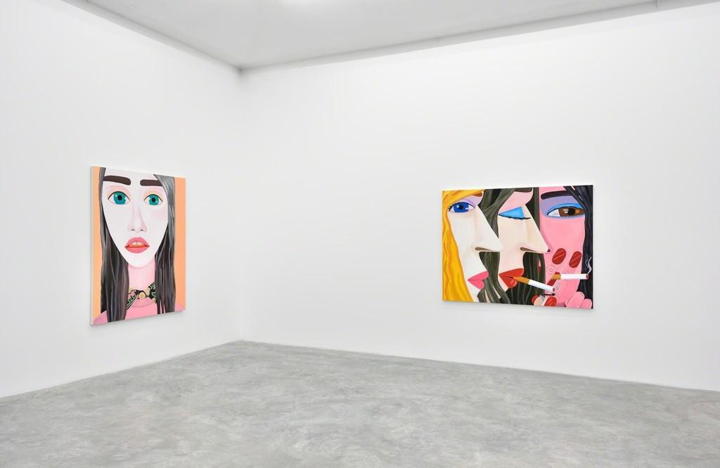 BRIAN CALVIN 'HOURS'  Almine Rech Gallery, Paris 03.03 — 12.04.16 © Rebecca Fanuele Courtesy of the Artist and Almine Rech Gallery