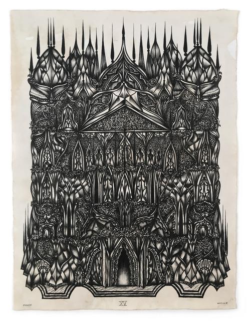 , 'BASILICA XV,' 2018, La Luz de Jesus Gallery