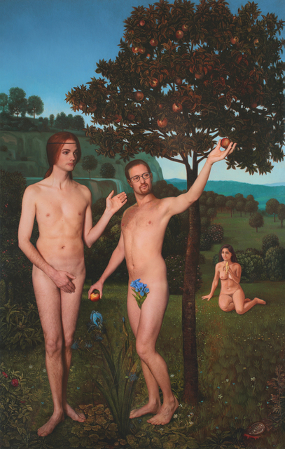 , 'Adam and Steve, Ode to Hugo van der Goes' The Fall of Man,' 2013, Jonathan Ferrara Gallery