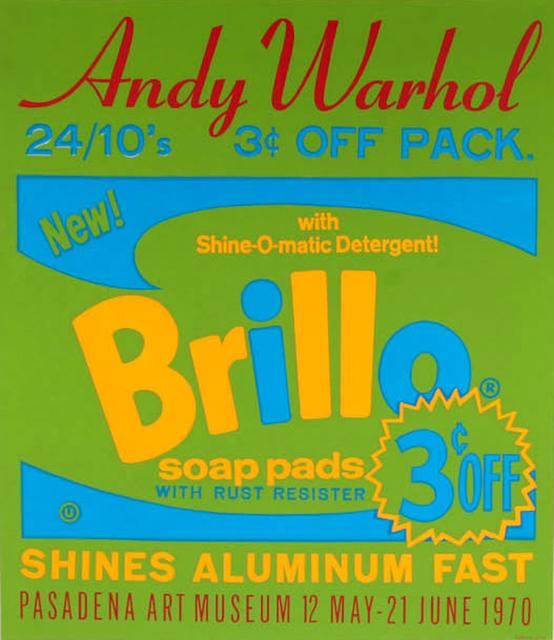 Andy Warhol, 'Brillo Soap Pads', 1970, michael lisi / contemporary art