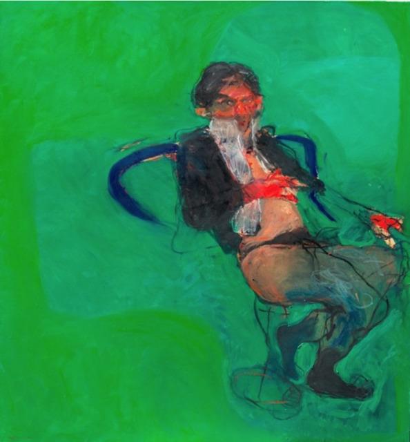 Adel Dauood, 'Untitled Green', 2016, Georges Berges Gallery