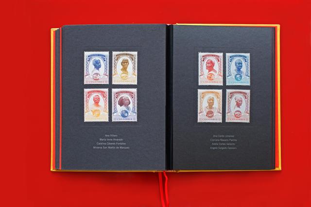 Ruby Rumie, 'Tejiendo Calle Corpus - Volume IV - Stamps', 2016, Nohra Haime Gallery
