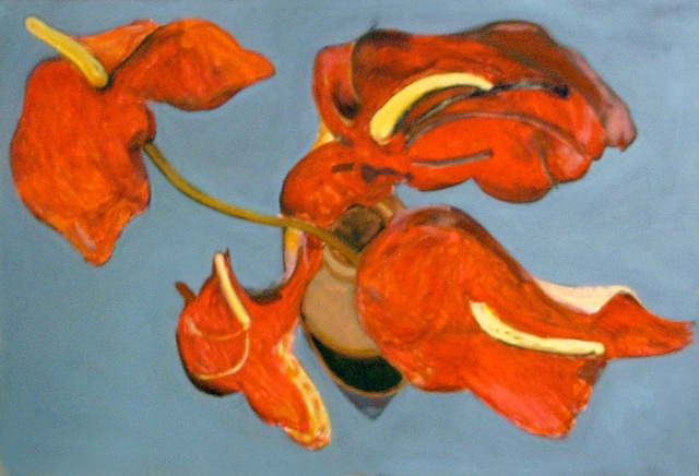 , 'Rote Anthurien,' 1990, Beck & Eggeling