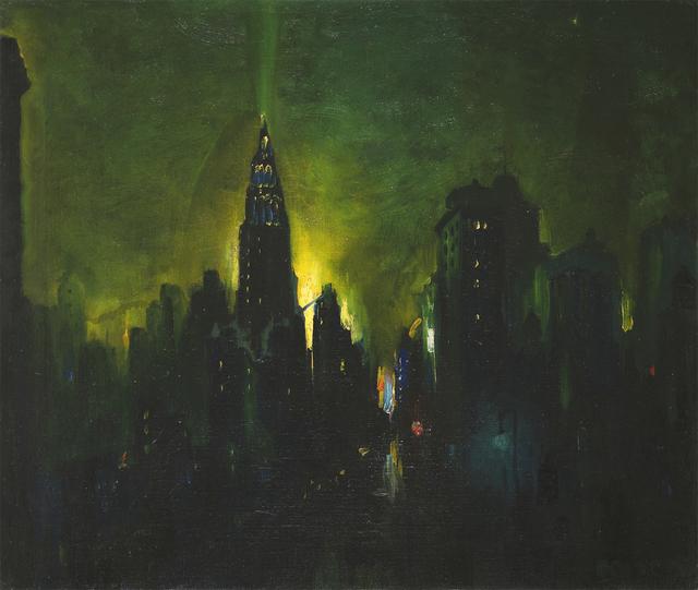 , 'New York Nocturne,' , Questroyal Fine Art