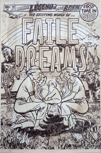 FAILE, 'Faile Dreams - Brown', 2008, 33 Auction