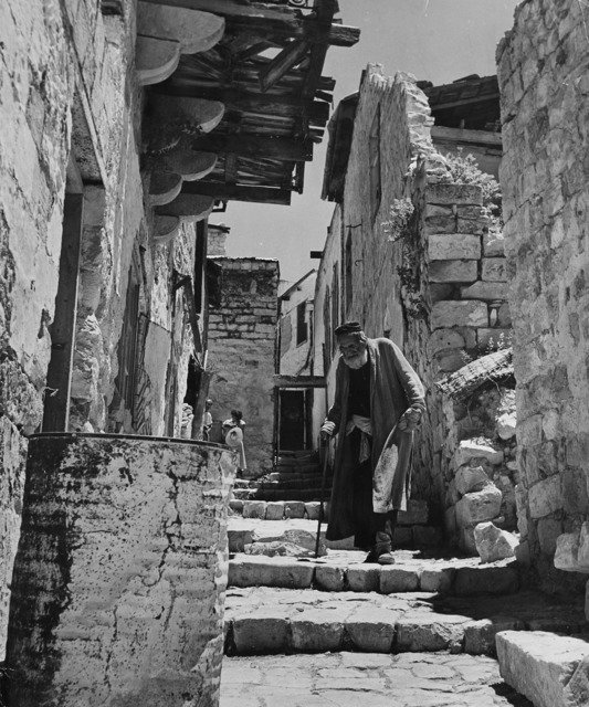 Robert Capa, 'Israel, the old life and Druses', 1948-1950, Il Ponte