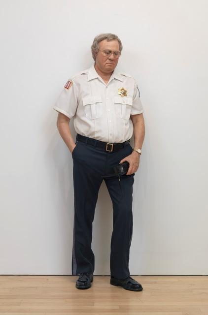 , 'Security Guard,' , Gagosian
