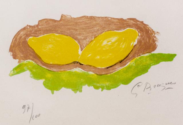 , 'Les Citrons,' 1954, Wallector