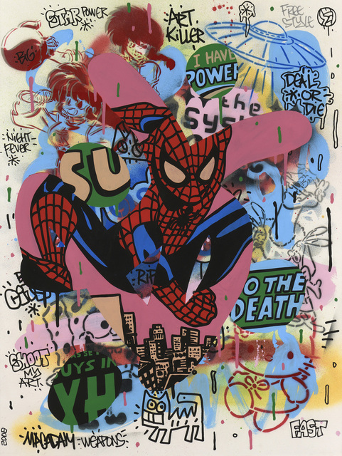 Speedy Graphito, 'Spiderman', 2008, Millon