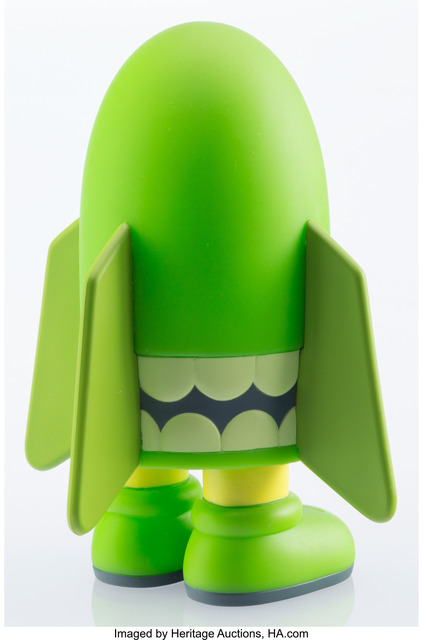 KAWS, 'Blitz (Green)', 2004, Other, Painted cast vinyl, Heritage Auctions